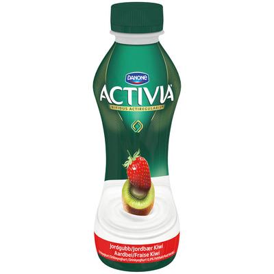Danone Activia start drinkyoghurt aardbei-kiwi