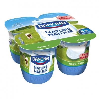 Danone Magere yoghurt natuur suiker