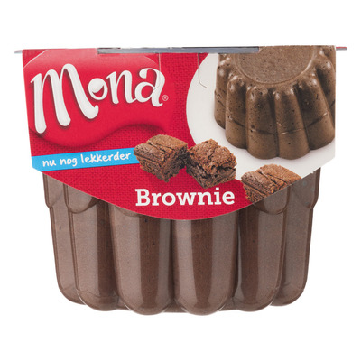 Mona Pudding luchtige brownie