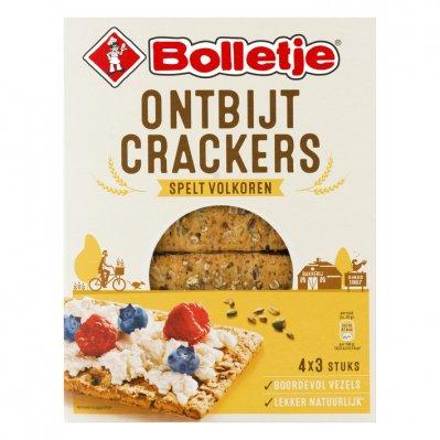 Bolletje Ontbijtcrackers spelt volkoren