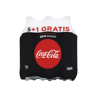Coca-Cola Zero Sugar 5+1 Gratis