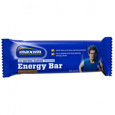 Maxim Crunchy cookie energy bar