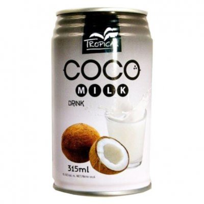 Tropical Coco milk drink