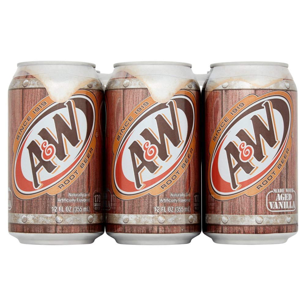 A&W Root Beer 3 x 355ml