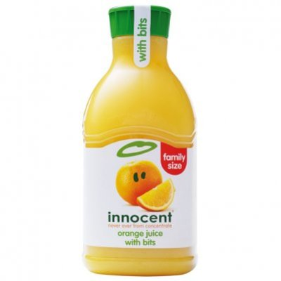 Innocent Orange juice with bits