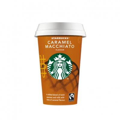 Starbucks Chilled classic caramel macchiato