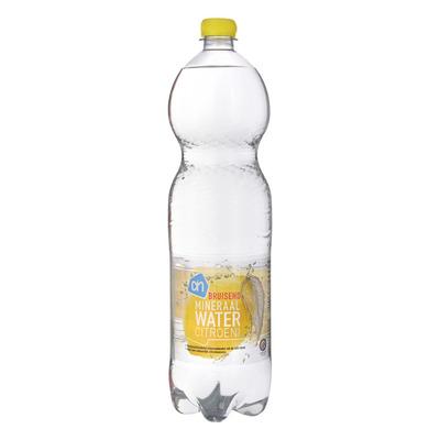 Huismerk Bruisend mineraalwater citroen