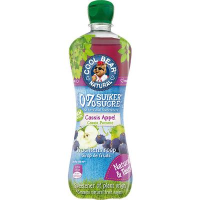 Cool Bear Siroop cassis-appel suikervrij