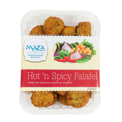 Maza Falafel hot 'n spicy