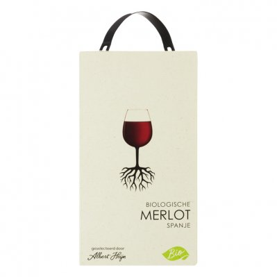 Huismerk Biologisch Merlot bag in box