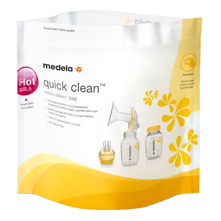 Medela Quick clean magnetronzakken