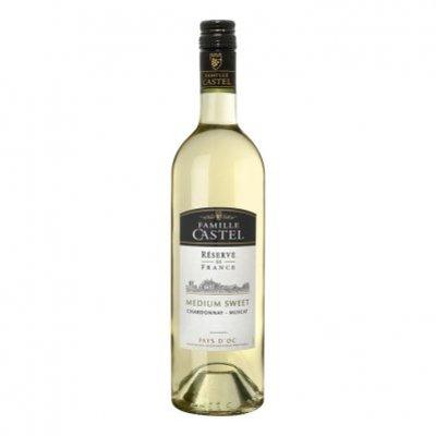 Castel Medium Sweet Chardonnay Muscat