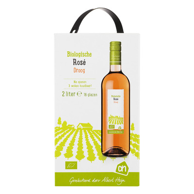 Huismerk Biologisch Rosé bag in box
