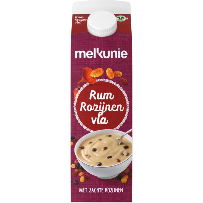 Melkunie Fruitvla rum-rozijnen