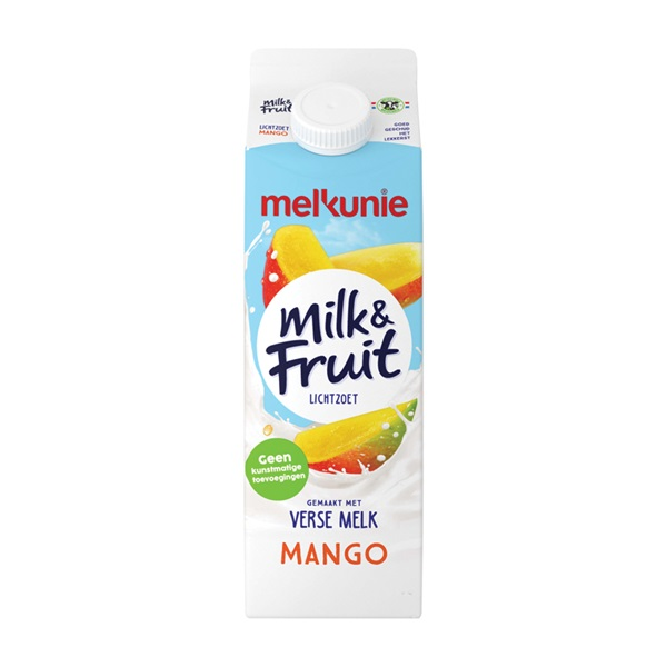 Melkunie milk & fruit mango