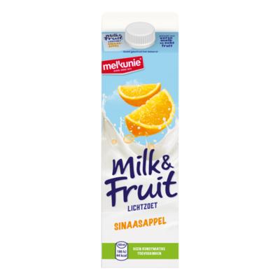 Melkunie Milk & Fruit Lichtzoet Sinaasappel