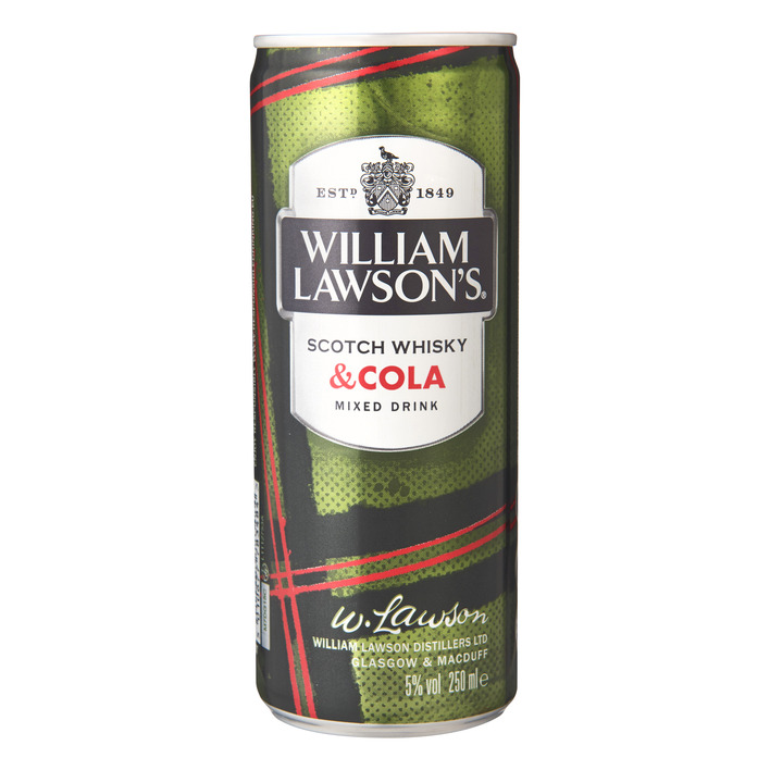 William Lawson's Whisky met cola
