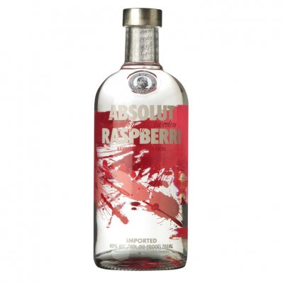 Absolut Raspberri flavored vodka