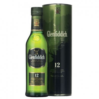 Glenfiddich Single malt Scotch whisky 12 years
