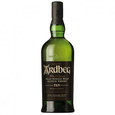 Ardbeg Islay single malt Scotch whisky 10 years