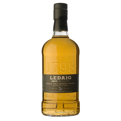 Ledaig Single malt Scotch whisky 10 years