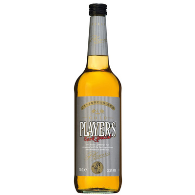 Player's Rum gold
