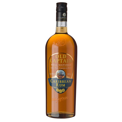 Old Captain Well matured Caribbean rum