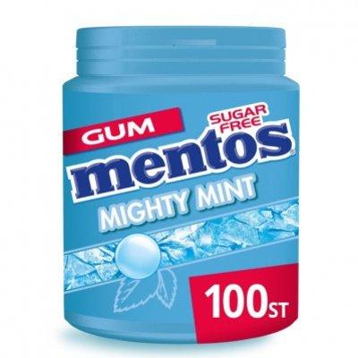 Mentos Gum Bottle mighty mint