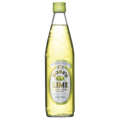 Rose's lime cordial mixer no alcohol