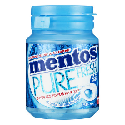 Mentos Gum Bottle pure fresh