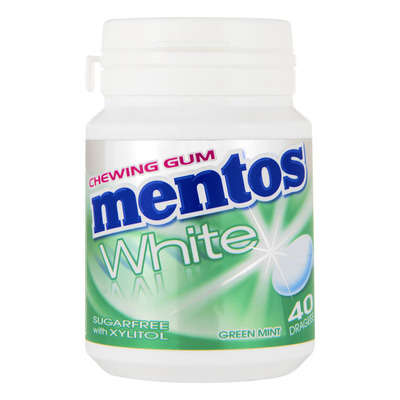 Mentos Gum Bottle white sweet mint