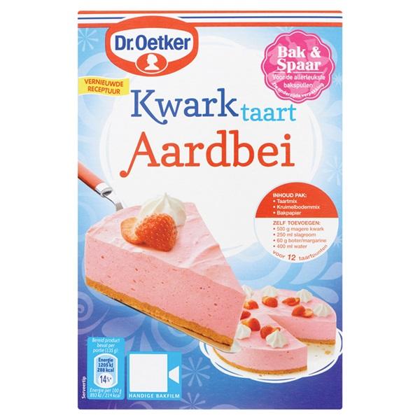 Dr. Oetker Kwarktaart Aardbei