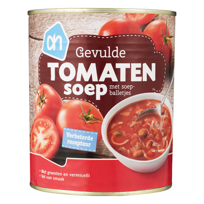Huismerk Rijkgevulde tomatensoep