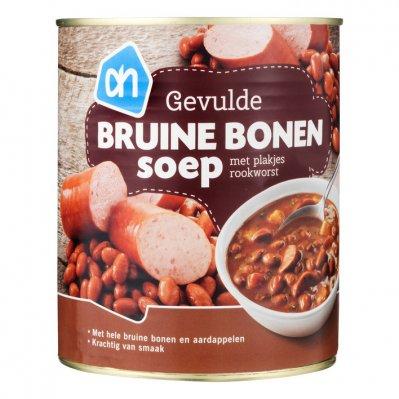 Huismerk Rijkgevulde bruine bonensoep