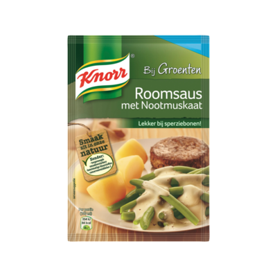 Knorr Mix Roomsaus met Nootmuskaat