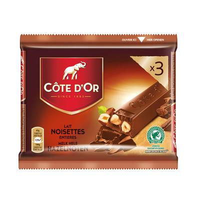 Côte d'Or Reep melk-hazelnoten