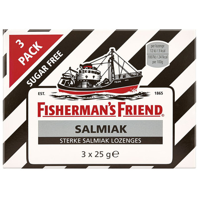 Fisherman's Friend Salmiak sugarfree
