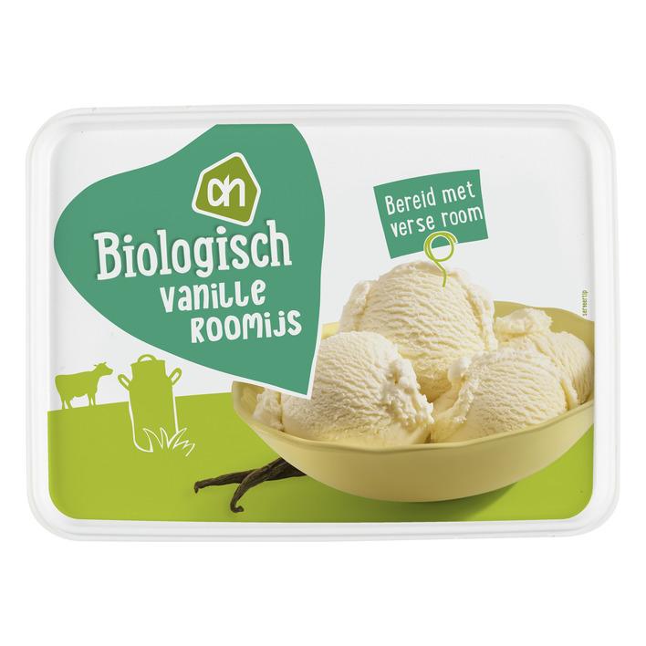Huismerk Biologisch Roomijs vanille