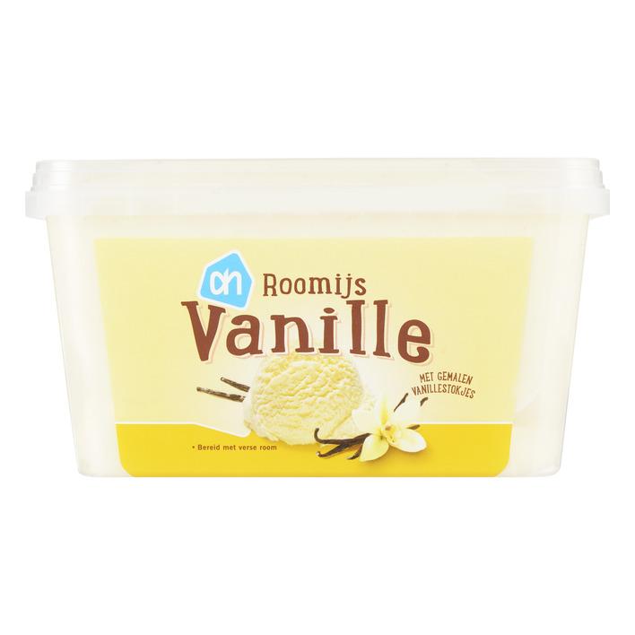 Huismerk Roomijs vanille