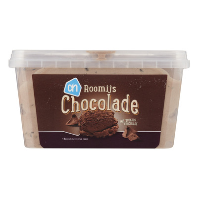Huismerk Chocolade roomijs