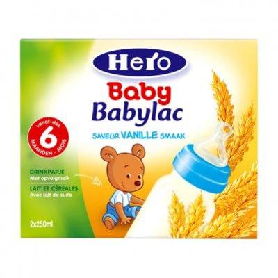 Hero Babylac drinkpapje vanille