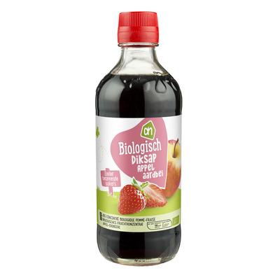 Huismerk Biologisch Diksap appel-aardbei