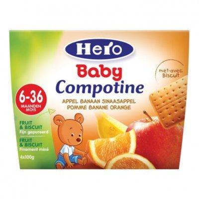 Hero Baby compotine appel-banaan-sinas