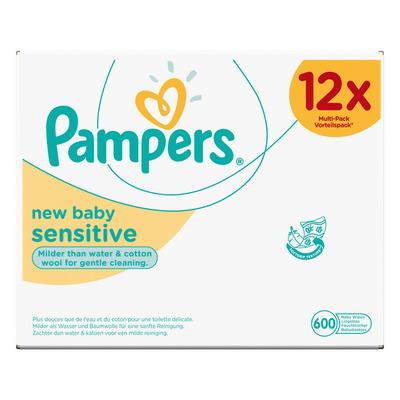 Pampers New baby sensitive babydoekjes 12-pak