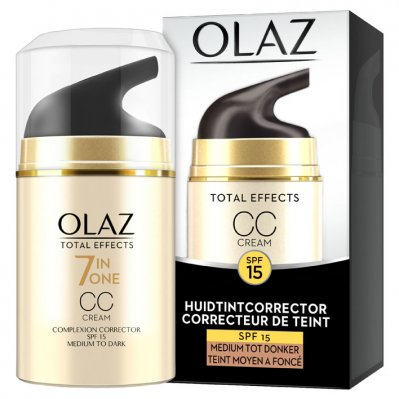 Olaz Total effects CC Cream medium-donker