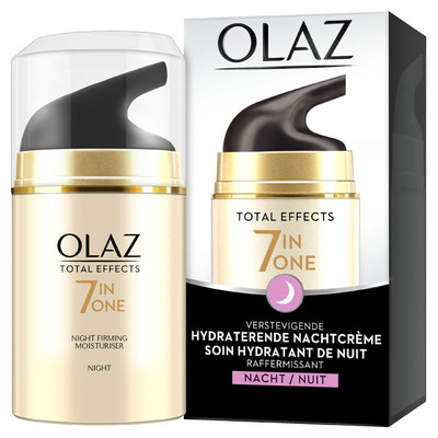 Olaz Total effects antiveroudering nachtcrème