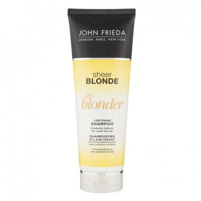 John Frieda Sheer blonde go blonder shampoo