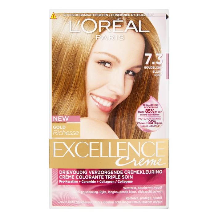 L'Oréal Excellence crème 7.3 goudblond