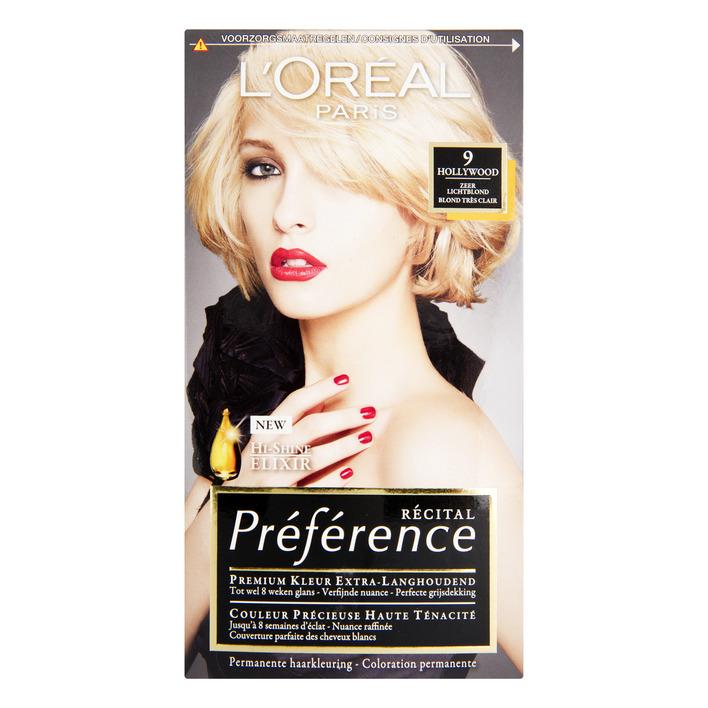 L'Oréal Préférence zeer lichtblond 9