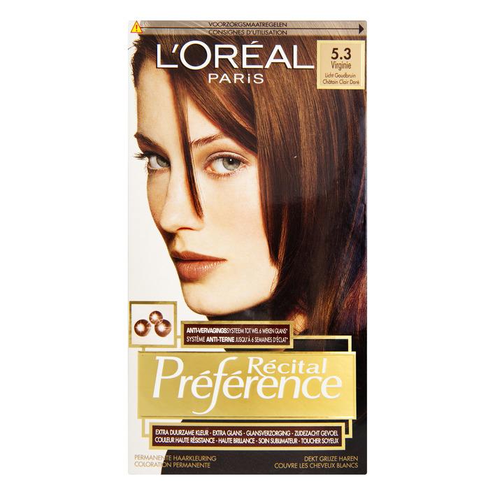 L'Oréal Préférence licht goudbruin 5.3